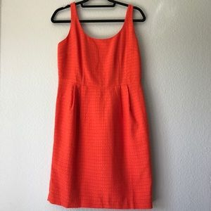 NWT Ann Taylor Orange Dress